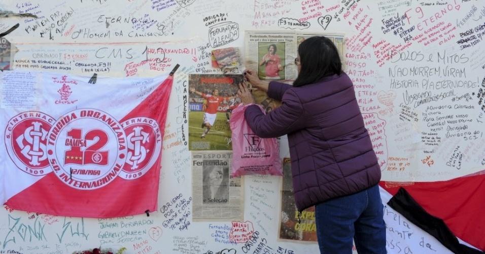 09.jun.2014 - Memorial dedicado a Fernandão, na frente do Beira- 9a1ec9bf8c