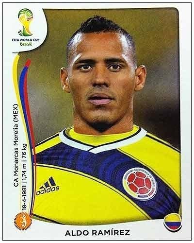 Aldo Ramirez foi cortado da seleção colombiana por entorse no pé sofrida em treino