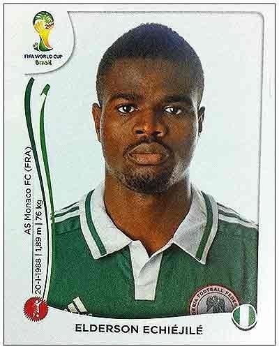 Echiejile sofreu lesão muscular em amistoso contra a Grécia e foi cortado da seleção nigeriana