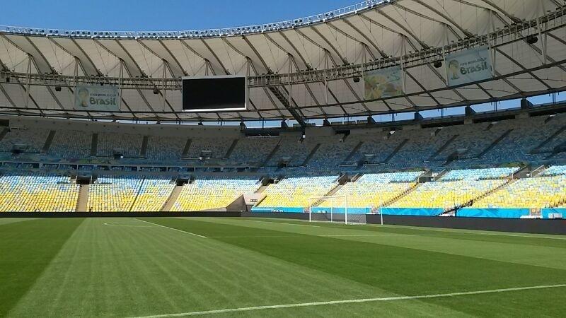 Gramado do Maracanã passou por reformas e interior do estádio ganha nova decoração