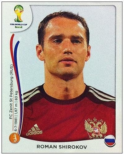 Shirokov não se recuperou de lesão no joelho e acabou cortado por Fabio Capello, técnico da Rússia