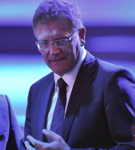 10.jun.2014 - Jerome Valcke, secretário-geral da Fifa, participa do Congresso da Fifa em São Paulo