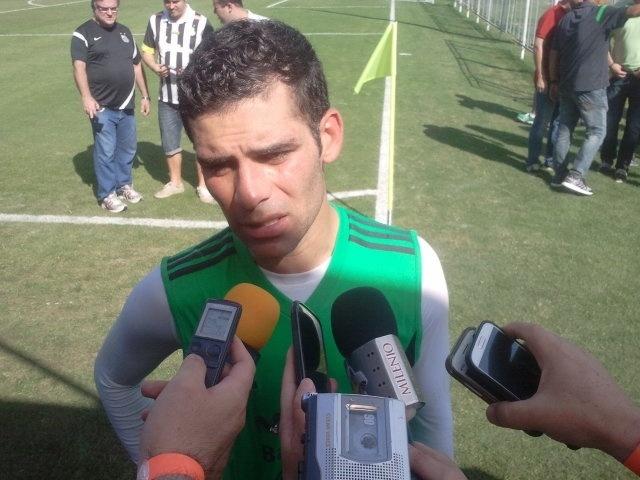 O zagueiro Rafael Márquez disputará o quarto mundial como capitão da seleção do México