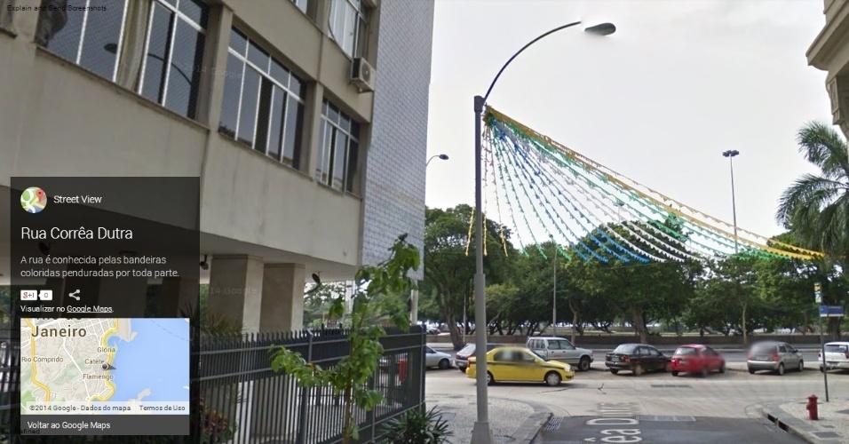 Rua Corrêa Dutra, no Rio