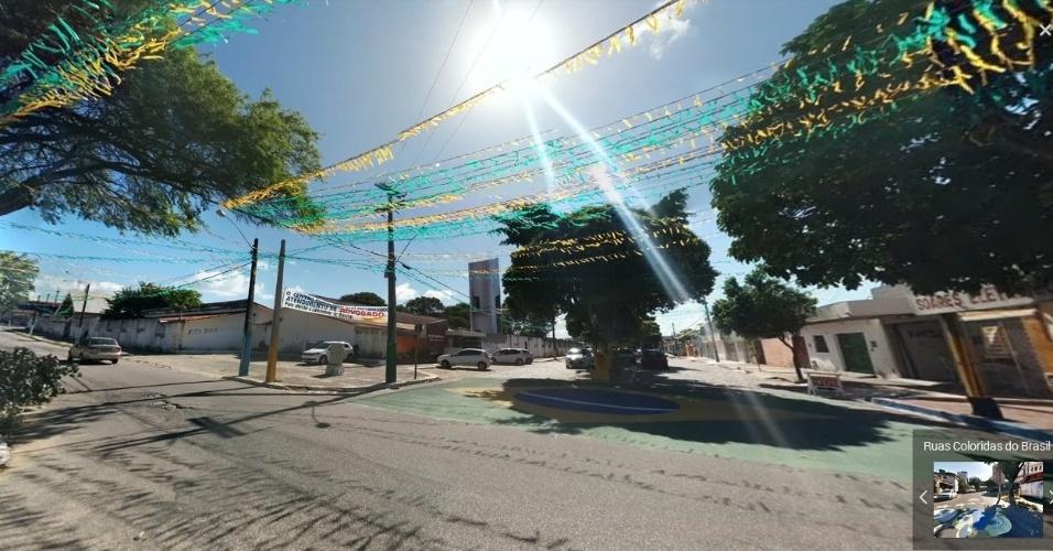 Rua dos Caicós, em Natal