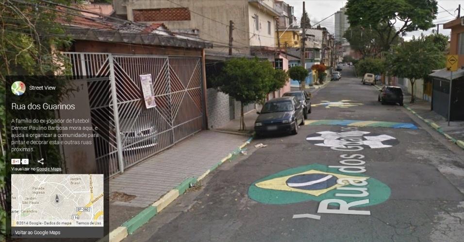 Rua dos Guarinos, São Paulo