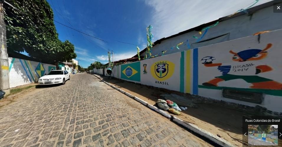 Rua São Pedro, em Ponta Negra, Natal