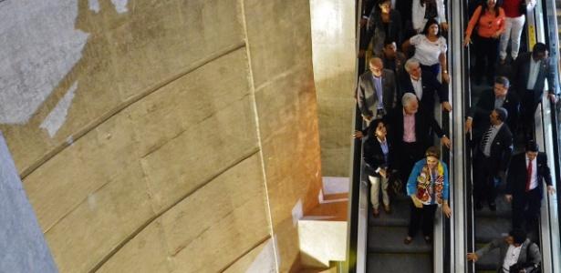 Presidente Dilma Rousseff participa de inauguração do metrô em Salvador