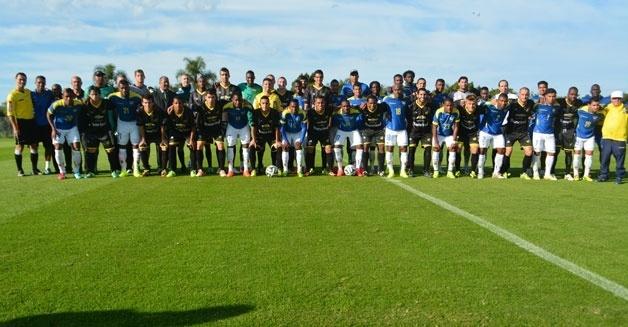 Seleção equatoriana fez amistoso contra o Cerâmica, da segunda divisão do RS