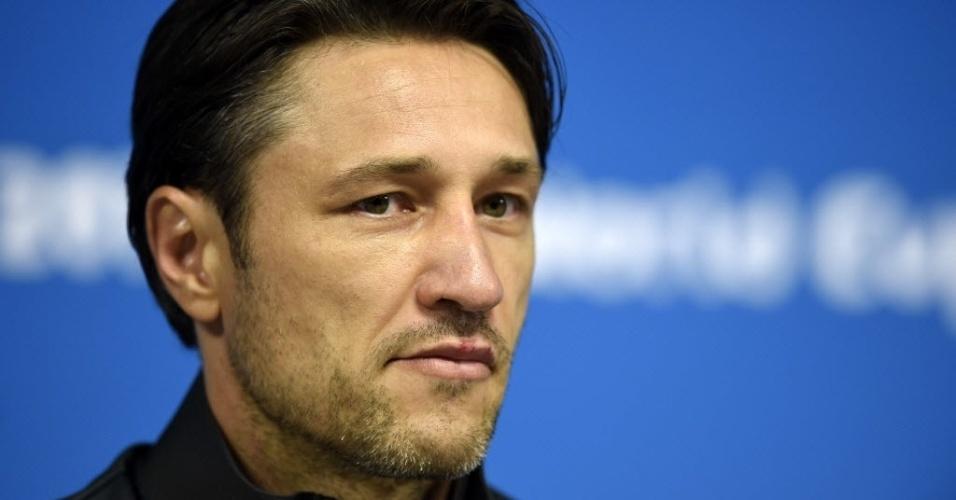 Técnico da Croácia, Niko Kovac, concede entrevista coletiva no Itaquerão, após treino da sua seleção