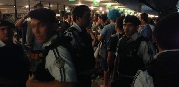 Uruguaios invadiram hotel em Fortaleza e foram expulsos pela polícia