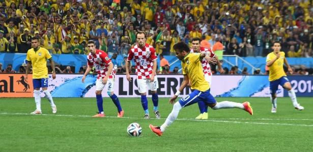 Brasil e Croácia se enfrentaram na abertura da Copa do Mundo de 2014 - Buda Mendes/Getty Images