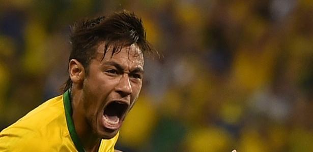 Neymar marca no Itaquerão e vibra na vitória da seleção brasileira sobre a Croácia