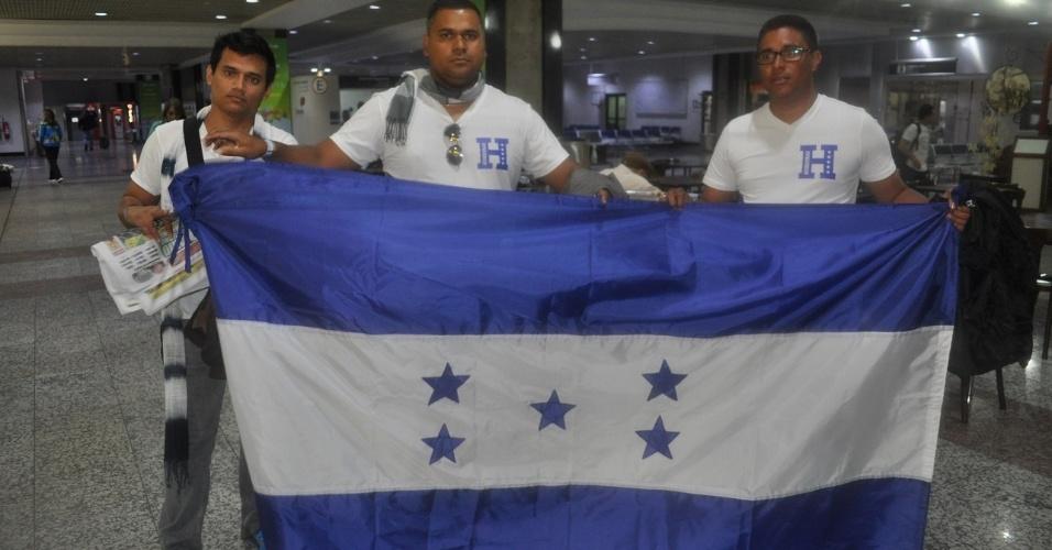 13 jun 2014 - Hondurenhos torcem para seleção para ter mais tempo com as mulheres