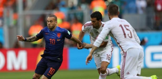 Sneijder lembra tabu contra Austrália e pede cautela para Holanda no jogo de quarta-feira