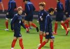 Coreia do Sul chega sem alarde e simboliza novo momento da Copa em Cuiabá - Reuters/Jorge Adorno