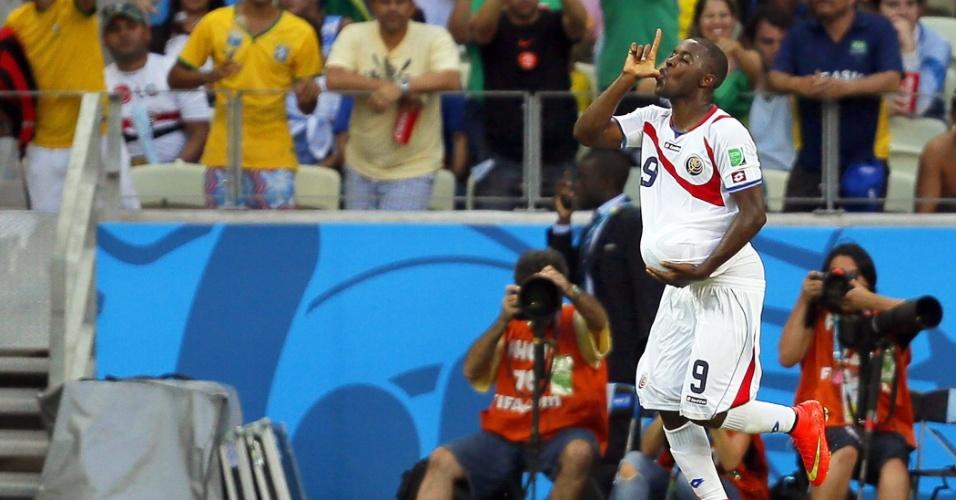 Após Costa Rica sair atrás no placar, Joel Campbell marca o primeiro na reação contra o Uruguai