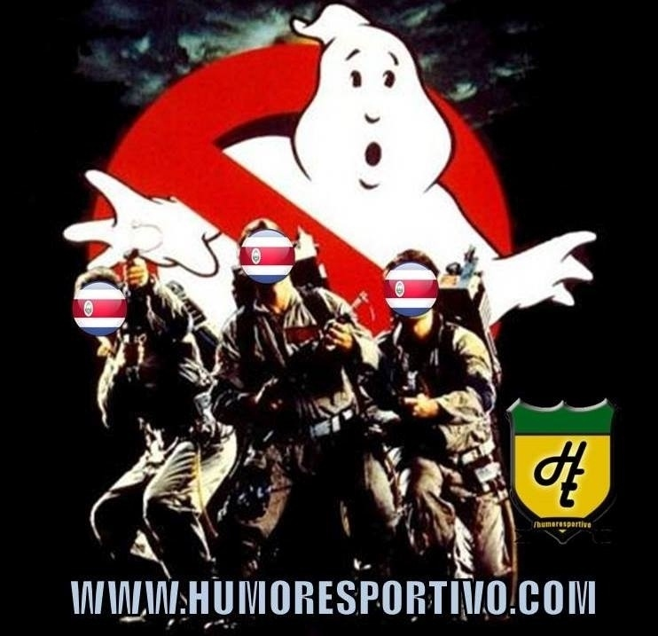 Caça-fantasmas costa-riquenhos