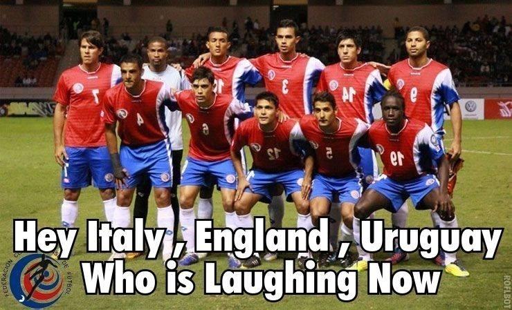"""""""Hey Itália, Inglaterra e Uruguai, quem está rindo agora?"""""""