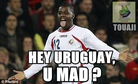 """""""Hey Uruguai, vocês estão bravos?"""""""