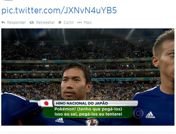 O hino nacional do Japão do jeito que a Globo não mostra