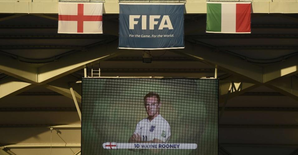 Wayne Rooney é confirmado como titular da Inglaterra antes da partida contra a Itália