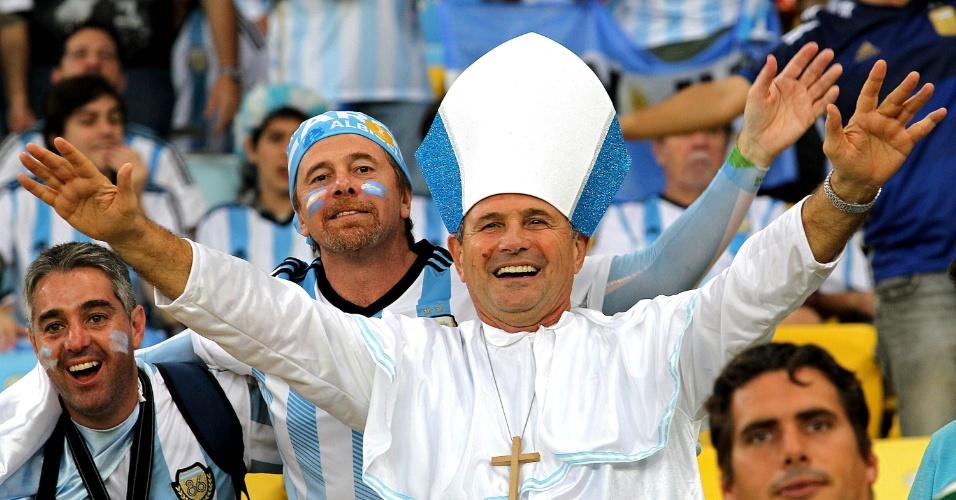 Argentinos no Maracanã contam com torcida de
