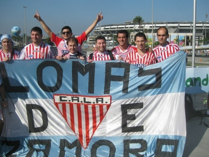 Caravana de torcedores do modesto Los Andes chega ao Maracanã para acompanhar partida entre Argentina e Bósnia-Herzegóvina