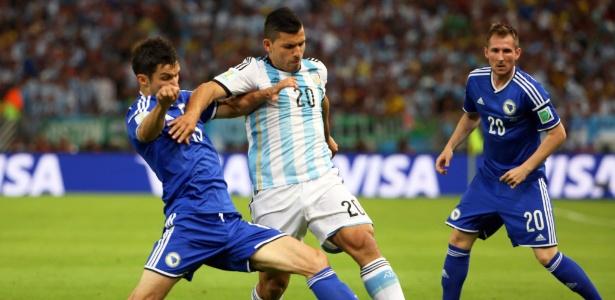 Kun Agüero tem lesão no músculo posterior da coxa esquerda e previsão de volta é para depois da Copa