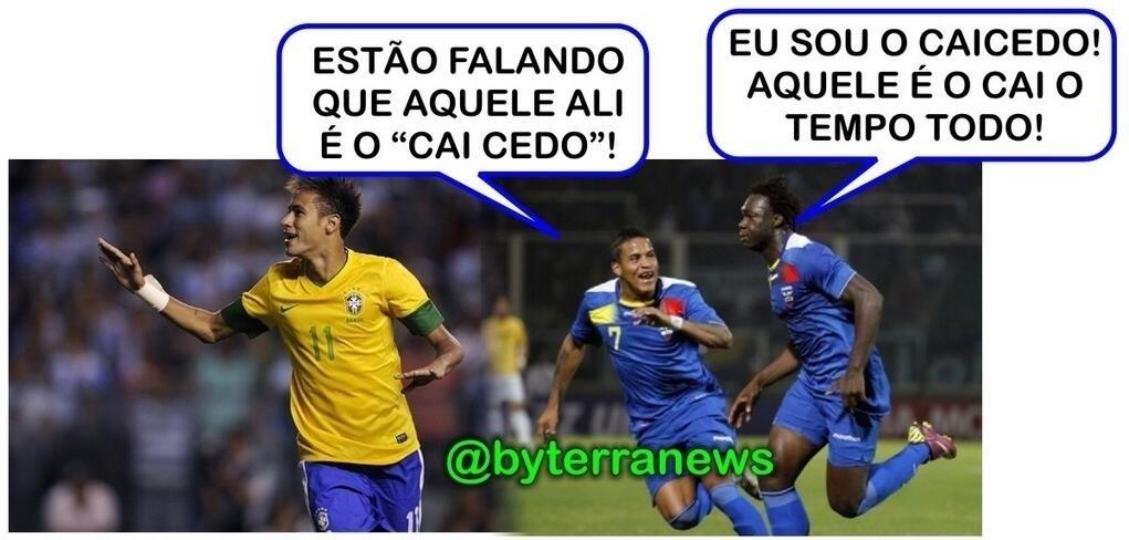 Caicedo no Equador? Sobrou para o Neymar...