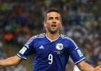 Autor do 1° gol da Bósnia em Copas mostra orgulho de esforço do time - FE/EPA/OLIVER WEIKEN