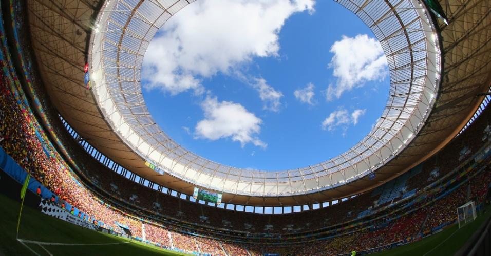 Estádio Mané Garrincha é palco de Suíça x Equador, em jogo válido pelo Grupo E da Copa