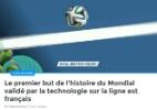 Jornais franceses festejam pioneirismo no 1º gol