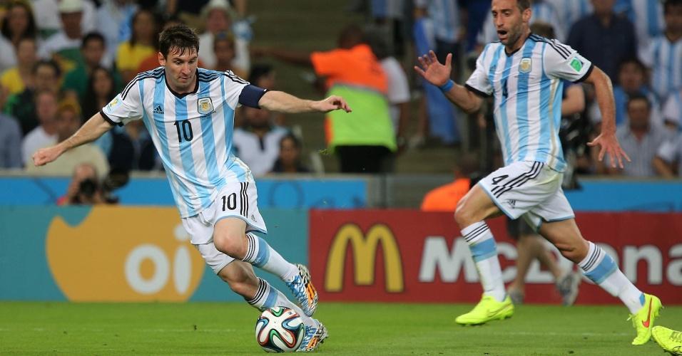 Messi chama a responsabilidade e tenta criar jogada para a Argentina na partida contra a Bósnia