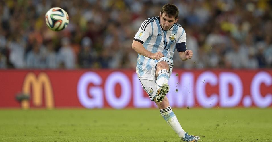 Messi chamou a responsabilidade na partida contra a Bósnia e ajudou a Argentina na vitória por 2 a 1