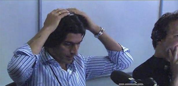 Uruguaio de 41 anos ainda não balançou as redes no Audax Italiano - Reprodução/ESPN