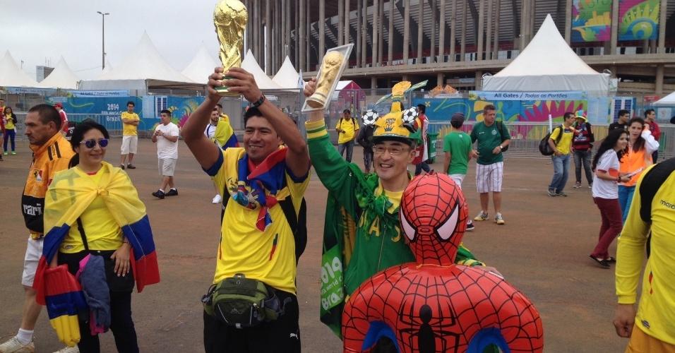 Torcedores do Equador esbanjam otimismo antes da estreia na Copa do Mundo