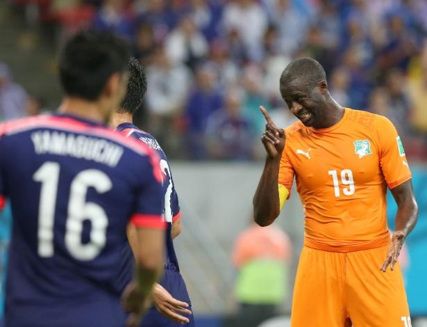 Yaya Toure criticou seu clube por não liberá-lo para estar com irmão enfermo