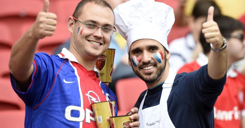15.jun.2014 - Será que este chef sabe a receita para a França conquistar seu segundo título mundial?