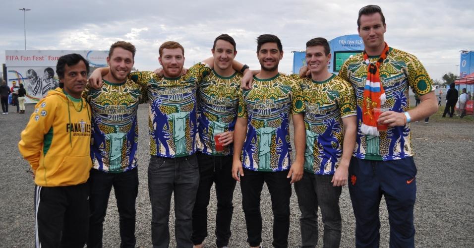 16 jun 201 - Time de pelada australiano garante que ganharia da seleção do país