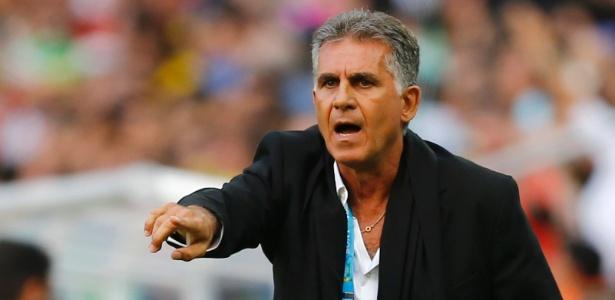 Carlos Queiroz não gostou de ter que ir ao estádio Independência e depois se deslocar até o Mineirão