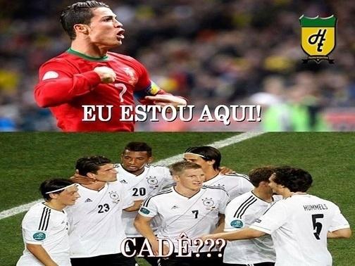 Alemães ainda estão procurando Cristiano Ronaldo