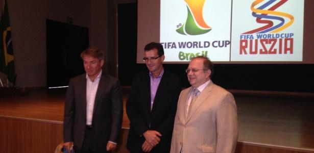 Alexey Sorókin (e) está na quinta passagem pelo Brasil; até aqui, russo gostou do que viu no país