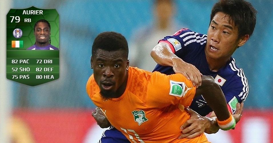 Costa do Marfim 2 x 1 Japão: Aurier (75 para 79)