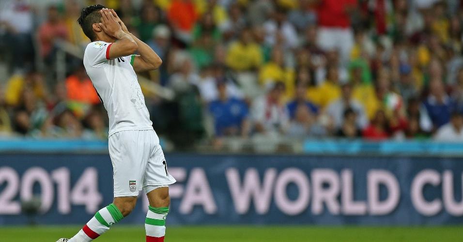Ghoochannejhad lamenta chance perdida pelo Irã no duelo contra a Nigéria em Curitiba