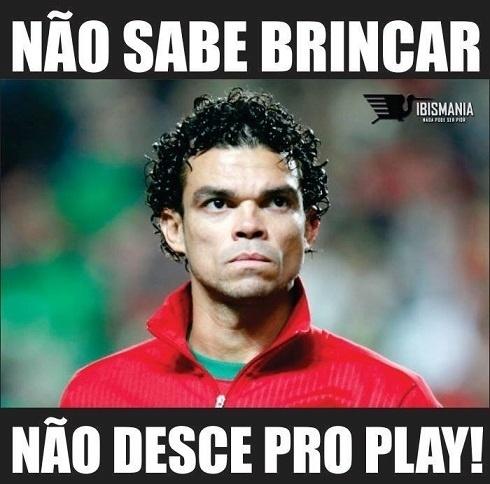 """Pepe é quem dita as regras do """"play"""""""