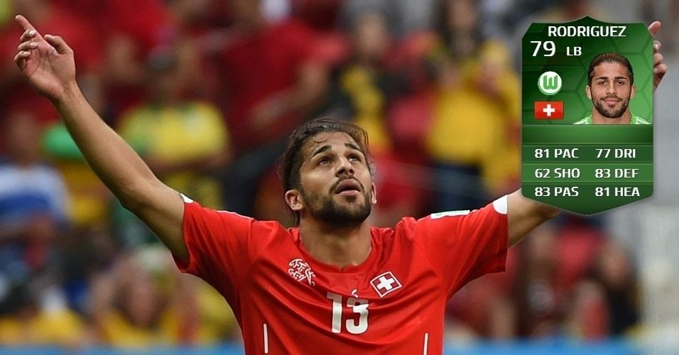 Suíça 2 x 1 Equador: Rodriguez (77 para 79)