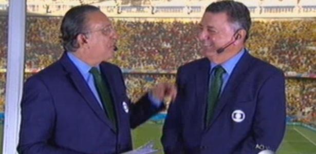 Globo terá Galvão e Arnaldo na final da Liga dos Campeões - Reprodução/TV Globo