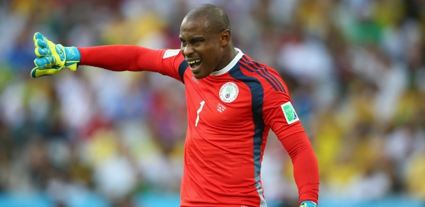 Vicent Enyeama foi um dos destaques da partida entre Nigéria e Bósnia