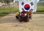 Rússia e Coreia do Sul jogam na Arena Pantanal - REUTERS/David Gray